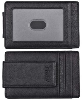 Kinzd Money Clip, Front Pocket Wallet