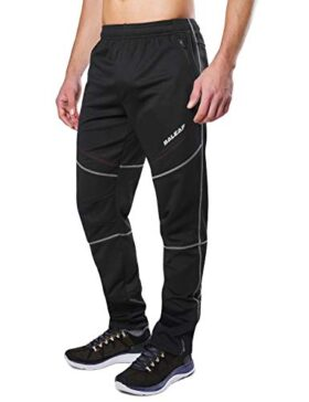 BALEAF Bike Running Fleece Athletic Pants
