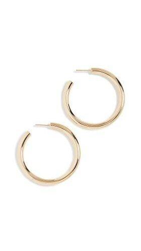 Jennifer Zeuner Jewelry Women's Lou Medium Hoop Earrings