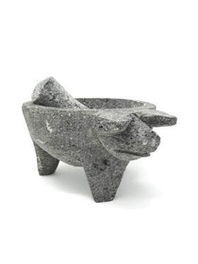 Sur La Table Natural Stone Pig Molcajete